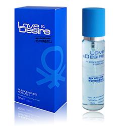 Feromony z Perfumami Love & Desire dla mężczynzn 15ml
