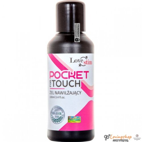 POCKET FOR TOUCH 100ml KIESZONKOWY ŻEL DO MASAŻU