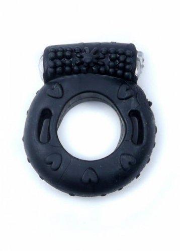 Pierścień-Vibrating CockRing Black