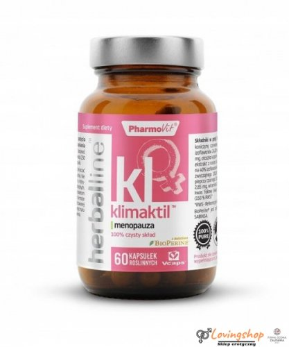 Pharmovit Herballine Klimaktil 60 kaps menopauza
