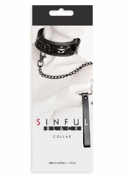 Wiązania-SINFUL COLLAR BLACK