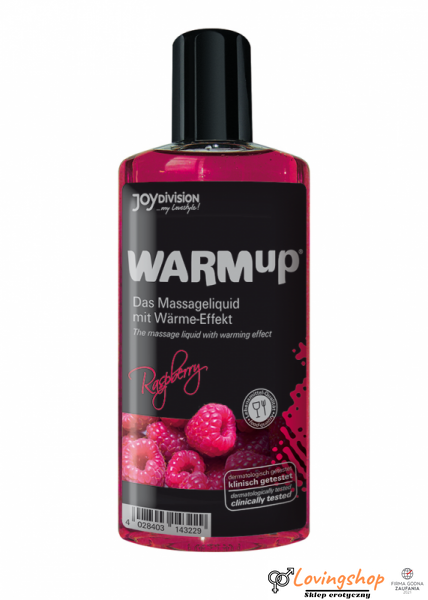 Olejek-WARMup Raspberry, 150 ml