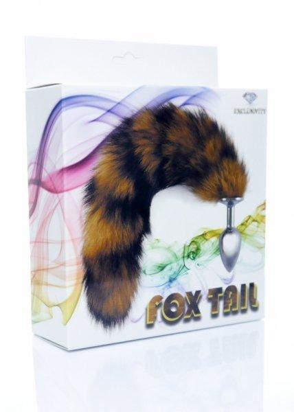 Plug-Fox TAIL- brown XL