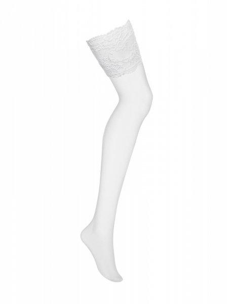 Bielizna-810-STO-2 pończochy białe L/XL