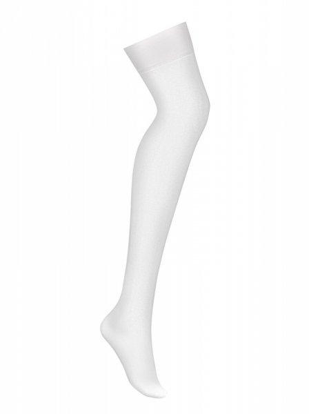 Bielizna-S800 pończochy białe L/XL