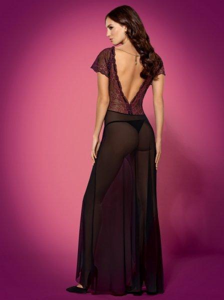 Bielizna-Sedusia suknia i stringi  S/M