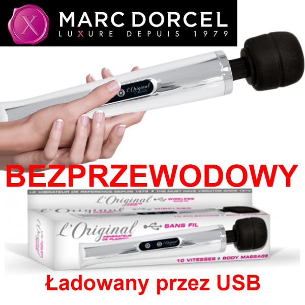 Marc Dorcel - Body Wand Original MASAŻER BEZPRZEWODOWY