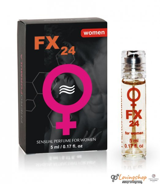 FX24 for women - aroma, roll-on 5 ml