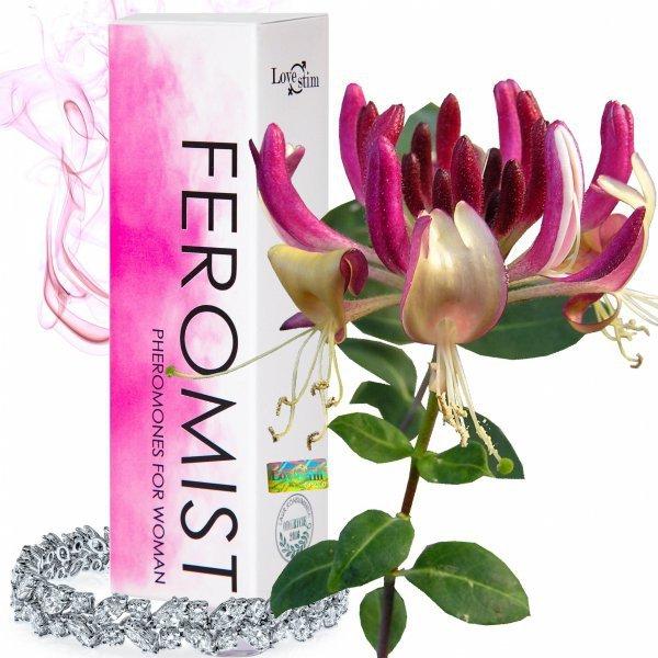 Nowe Mocniejsze FEROMIST dla kobiet 15ml