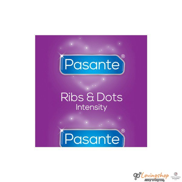 10 x Pasante Ribs & Dots/Intensity