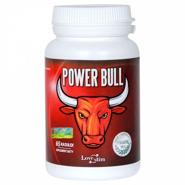 Power Bull 65kaps suplement na testosteron i erekcję