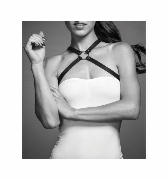 Bijoux Indiscrets - MAZE Chest Thin Harness Brown