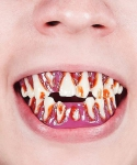 Sztuczne zęby - Zombie