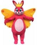 Strój chodzącej maskotki - Zając Król Motyl
