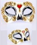 Maska wenecka - Colombina Bella Morte