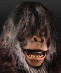 Maska lateksowa - Szympans Deluxe