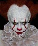 Zestaw do charakteryzacji - Pennywise 2017 Horror Clown