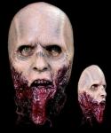 Maska lateksowa - The Walking Dead Zombie bez szczęki