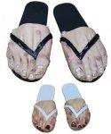 Nakładki na stopy - Stopa w klapku