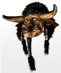 Maska lateksowa - World of Warcraft Tauren