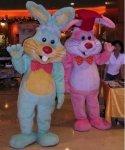 Chodząca maskotka - Zając Wielkanocny Candy