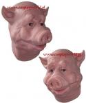 Maska lateksowa - Świnia Paul