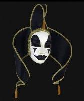 Maska wenecka -  Contessa Black
