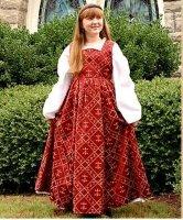 Suknia Dla Dziecka - Fleur de Lis