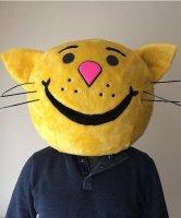 Głowa chodzącej maskotki - Kot