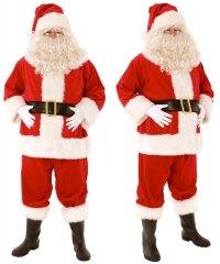 Profesjonalny strój Świętego Mikołaja - Św. Mikołaj Classic