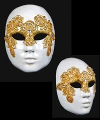 Maska wenecka - Volto Macram Frmmina G