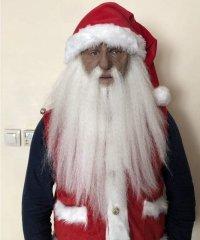 Maska lateksowa - Czarodziej & Dziadek Mróz & Święty Mikołaj
