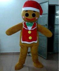 Chodząca maskotka - Świąteczny Pierniczek w fartuszku