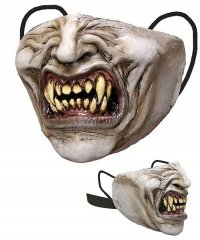 Maska lateksowa zakrywająca usta i nos - Wampir