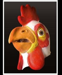 Maska lateksowa - Kurczak