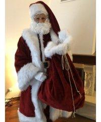 Profesjonalny strój Świętego Mikołaja - Św. Mikołaj Deluxe 2021