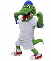 Strój chodzącej maskotki - Krokodyl 13