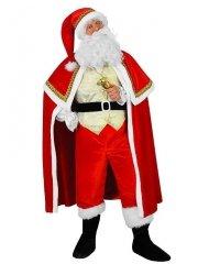 Profesjonalny strój Świętego Mikołaja - Św. Mikołaj Gold Deluxe