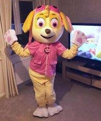 Chodząca żywa duża maskotka - Psi Patrol Skye