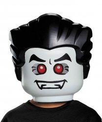 Maska lateksowa - Lego Wampir