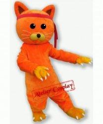 Strój chodzącej maskotki - Kot Pomarańczek