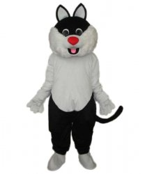 Strój chodzącej maskotki - Kot 10