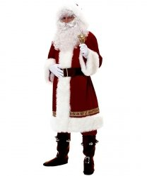 Profesjonalny kostium świąteczny - Święty Mikołaj Old Santa