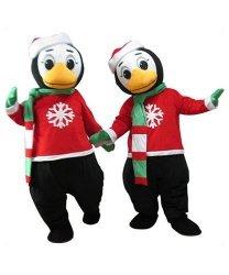 Strój reklamowy - Świąteczny Pingwinek