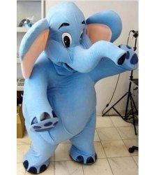 Chodząca maskotka - Słoń Błękitek
