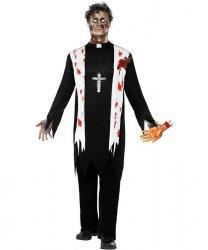 Kostium karnawałowy - Ksiadz Zombie