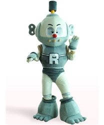 Strój reklamowy - Robot
