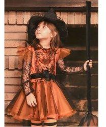 Strój teatralny dla dziecka - Czarownica