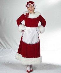 Kostium świąteczny - Pani Mikołajowa 5