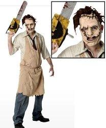 Strój na Halloween - Leatherface
